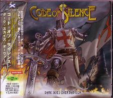 CODE OF SILENCE / Dark Skies Over Babylon + 2 Japan CD 2013 EDEN'S CURSE Adagio