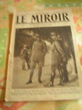 Le miroir 1916 POLAZZO GORIZIA MASSEVAUX BIACHES