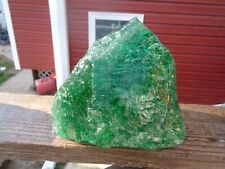 Glass Rock Slag Clear Green Bubbles 13.14 lbs Rocks Ww43 Landscaping Aquarium