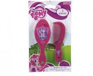 My Little Pony Hair Brush & Comb Gift Set Beauty Present Children Kids Girls New