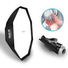 "PhotR 150cm/60"" Octagon Umbrella Softbox Reflector Speedlite Bowens Flash S Type"
