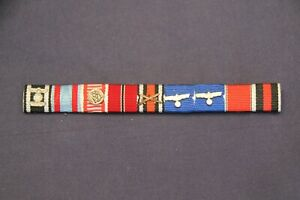 WW2 Military Medal Ribbon Bar (German)