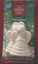 Scentsicles Smells like Christmas White Winter Fir (1 pkg) 2  scented Ornaments