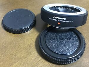 [UNUSED] Olympus MMF-3 Four Thirds Adapter for Lenses From JAPAN