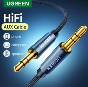 Ugreen Premium AUX 3.5mm CORD PC MP3 CAR Male to Male Stereo Audio Cable Hi-Fi