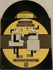 "THE RESIDENTS-HIT THE ROAD JACK-7"" 45 RPM picture sleeve Ralph Records cutout"