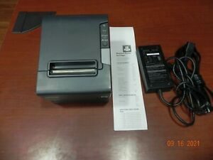 Epson TM-T88V M244A USB/Serial Thermal Receipt Printer, with power supply ps-180