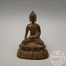 Old Tibet Tibetan Bronze Shakya Mani Buddha statue Exorcism peace wealth