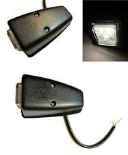 2x LED Umrissleuchte Begrenzungsleuchte weiß LKW Anhänger Wohnwagen 12V 24V SET