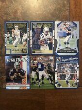 Peyton Manning 6 card lot Indianapolis Colts Broncos Nice Cards Free Shipping