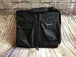 Eddie Bauer Portable Infant Baby Travel Bed Bassinet Black Foldable Carry Strap