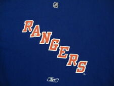 NHL New York NY Rangers National Hockey League Fan Reebok Blue T Shirt M