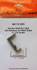 Quickboost 1/72 Focke Wulf Ta154 Air Intakes and Pitot Tube # 72