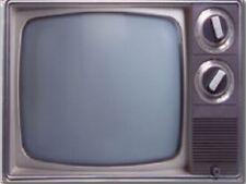 "*Postcard-""Classic Television""  w/2 dials /No Remote/ (Picture on Postcard/(B487"