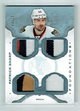 14-15 UD The Cup Foundations  Patrick Sharp  /10  Quad Patches