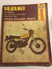 SUZUKI TC90 TS90 TC100 TC125 TS125 TC185 TS185 TS250 TS400 HAYNES MANUAL 1971-79