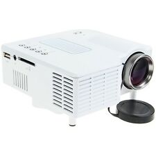 PORTABLE MINI LED PROJECTOR CINEMA THEATER PC & LAPTOP VGA USB SD AV INPUT HDMI