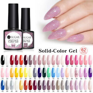 UR SUGAR 7.5ml Ongles Gels UV Vernis Nail Art UV Gels Polish Soak off Manucure
