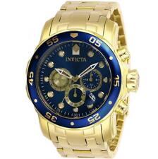 Invicta Pro Diver 28721 Men's Gold-Tone Aqua Dial Chronograph Watch