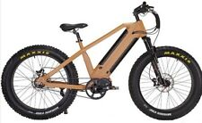"Our Fabulous Spectre Mountain Fat Tyre E bike - 26"" 750w/48v X 2 10ah Batteries"