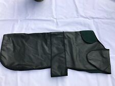 XL Dog Coat Waxed Cotton Jacket Waterproof Wax 37 green black russian terrier