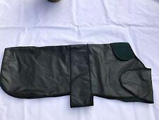 XL Dog Coat Waxed Cotton Jacket Waterproof Wax 40 green irish wolfhound breed
