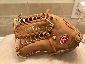 "Rawlings PP1275TR 12.75"" Baseball Softball Glove Left Hand Throwing NWTags"