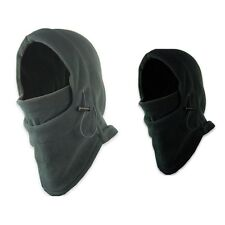 Thermal Fleece Ski Face Mask Balaclava Hood Neck Warmer Snow Wind Stopper KY