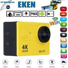 "H9SE Full HD 4K HD Wifi Waterproof 2.0"" 1080p 12MP Sports Action Camera DV D8H0"