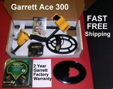 Ace 300 Garrett Metal Detector with Bonus Items * Fast Free Shipping