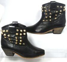 TBA To Be Announced Half Past 2 Studded gold brass spike bootie US 6 Light Wear