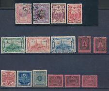 1913 - 1957 Turkey POSTAGE DUES, SEMI POSTALS & POSTAL TAX ISSUES; CV $60