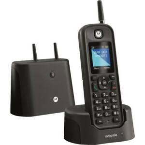 Motorola O201 Werkstatt Telefon Stoss u. Wasserfest Hohe Reichweite Schwarz