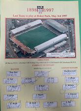 More details for sunderland v everton last team to play at roker park 1997