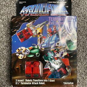 1984 Takara Kronoform Wargon Terminators Evil Robot Force