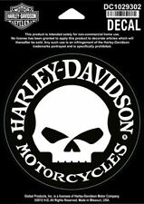 "Harley-Davidson® Willie G Skull Decal Sticker  4""x4"" DC1029302"