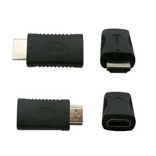 Virtual Display Adapter HDMI EDID Dummy Plug Male to Female Emulator Lock Plate*