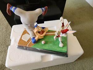 Looney Tunes Goebel Spotlight Collection Bugs Bunny Baseball Bugs - Dis Guy's a