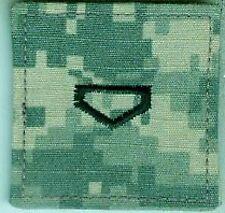 USA:Dienstgradabz:ROTC. ACU Digital,2 Stück m.Klett