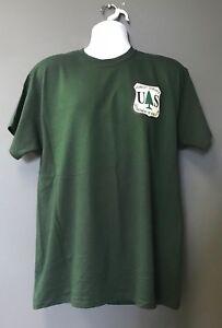 USFS Forest Service Dept of Agriculture Alt Logo HUNTER GREEN Morale T-Shirt