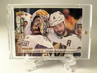 2018/19 UD GAME DATED MOMENTS #71 MARC-ANDRÉ FLEURY LAS VEGAS GOLDEN KNIGHTS