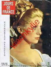 Jours de France n°695 du 02/03/1968 Catherine Deneuve Mode Nina Ricci Givenchy