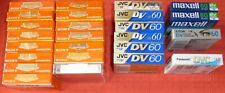 25 BLANK MINI DIGITAL VIDEO CASSETTE TAPES - NEW & SEALED (COLLECTION/JOB LOT)