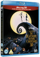 The Nightmare Before Christmas 3D+2D Blu-Ray NEW BLU-RAY