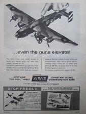 9/1964 PUB MAQUETTE AIRFIX KITS MODEL AIRCRAFT HALIFAX BOMBER ORIGINAL AD