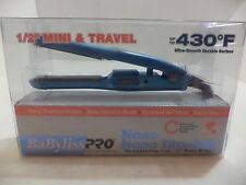 BaByliss PRO Nano Titanium Mini Straightening Iron (1/2 Ins)Excellent for Travel