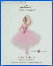 Barbie Ballerina Barbie Collector Hallmark Keepsake Christmas Ornament 2008