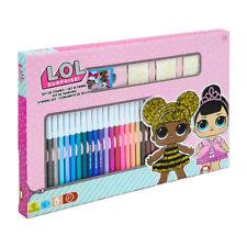 Lol Surprise bambole kit Giotto gioco creativo per bambina set colori e timbri