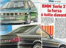 SP83 Clipping-Ritaglio 1988 Bmw Serie 3 La forza è tutta davanti