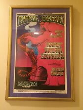 PROCOL HARUM, BUDDY MILES EXPRESS G.Irons Bill Graham Fillmore West #167 Framed
